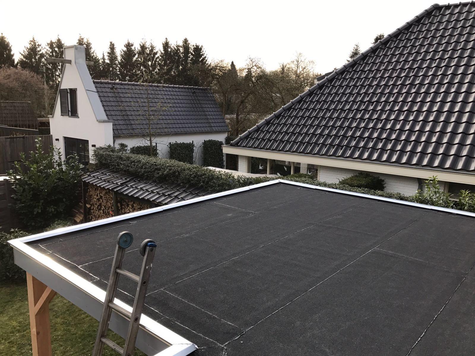 Foto van een dak dat zojuist is onderhouden door Loodgieter-Berkel